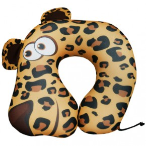 """Подушка антистресс под шею """"Леопард"""""""