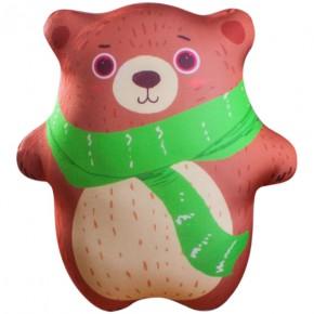 "Подушка-игрушка антистресс ""Мишка"" бурый"