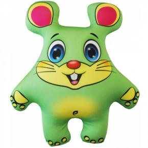 """Подушка-игрушка антистресс """"Мышонок"""" зеленый"""