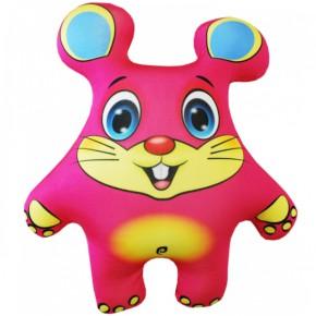 """Подушка-игрушка антистресс """"Мышонок"""" розовый"""