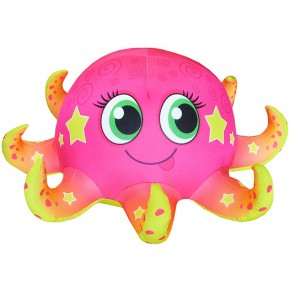"""Подушка-игрушка антистресс """"Осьминожка"""" розовая"""