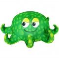 """Игрушка """"Осьминожка"""" зелёная (подушка антистресс)"""