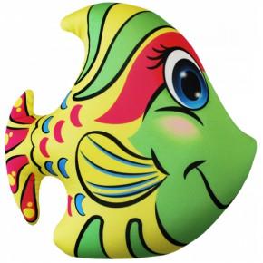 """Подушка-игрушка антистресс """"Рыбка"""" зеленая"""