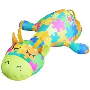"""Подушка-игрушка антистресс """"Жираф Пазлик"""""""