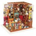 """Румбокс """"Книжный"""" (набор-конструктор для создания кукольного интерьера в миниатюре)"""
