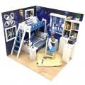 """""""Комната мечтателей"""" румбокс (набор-конструктор для создания кукольного интерьера в миниатюре)"""