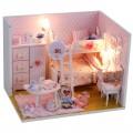 """""""Комната Принцесс"""" румбокс (набор-конструктор для создания кукольного интерьера в миниатюре)"""