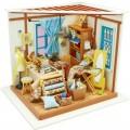 """Румбокс """"Ателье"""" (набор-конструктор для создания кукольного интерьера в миниатюре)"""