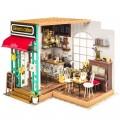 """Румбокс """"Кофейня"""" (набор-конструктор для создания кукольного интерьера в миниатюре)"""