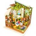 """Румбокс """"Сад Миллеров"""" (набор-конструктор для создания кукольного интерьера в миниатюре)"""