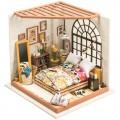 """Румбокс """"Спальня Элис"""" (набор-конструктор для создания кукольного интерьера в миниатюре)"""