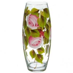 """Стеклянная ваза """"Бутоны"""" 26 см"""