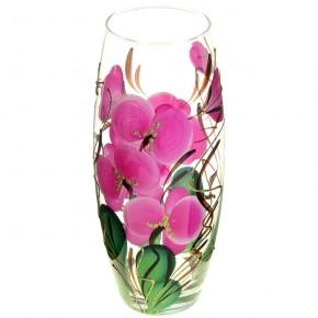 """Стеклянная ваза """"Орхидея"""" 26 см"""
