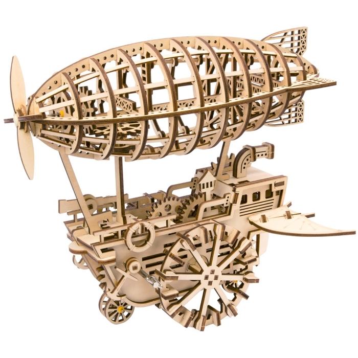 """Конструктор """"Дирижабль"""" деревянный с механическим приводом от 2 650 руб"""