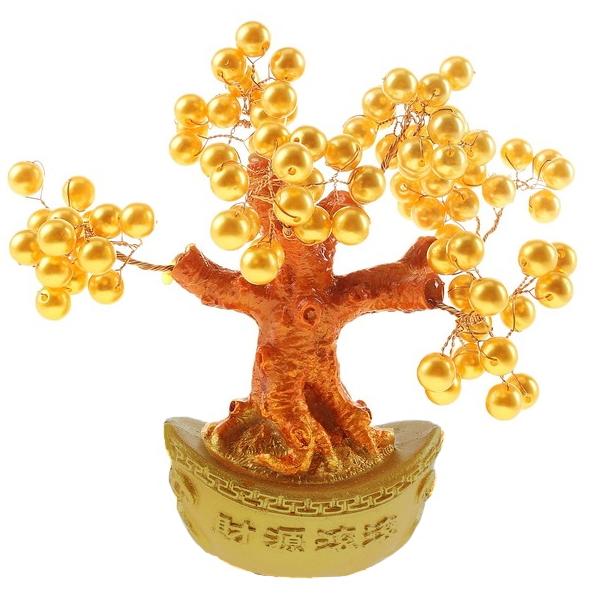 """Бонсай """"Жемчужный"""" (дерево счастья), 15 см от 350 руб"""