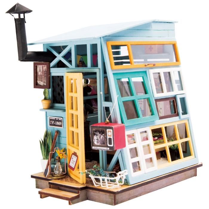 """Румбокс """"Чердачок"""" (набор-конструктор для создания кукольного интерьера в миниатюре) от 1 450 руб"""