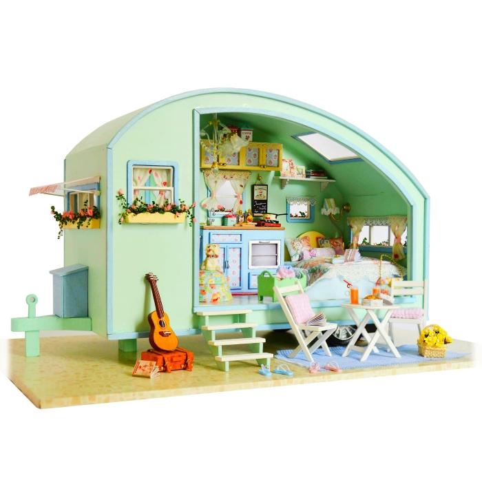 """Румбокс """"Путешествия"""" (набор-конструктор для создания кукольного интерьера в миниатюре) от 3 750 руб"""